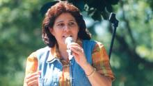 'Titi' Myrtha Castro, co-founder of Amparo de la Niñez. Photo Archive.