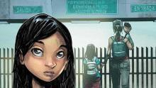 "Illustration of ""Ana"" comic."
