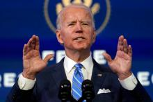 Biden's Stimulus Package. Photo: Matt Slocum/Associated Press