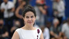 Arcelia Ramirez at Cannes by Christophe Simon.