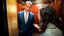 Jeff Flake, Ana Maria Archilla and Maria Gallagher: The elevator moment – CNNPolitics