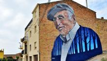Arte urbano en Penelles. Festival Gar-Gar 2016 (Penelles-España). Foto: Wikimedia/Commons