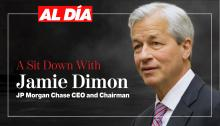JPMorgan Chase CEO and Chairman Jamie Dimonsat down with AL DÍAfor an interview during his visit to Philadelphia on Oct. 13. Graphic: Maybeth Peralta/AL DÍA News.