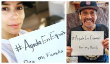 Eva Longoria and Danny Trejo are two Latinx stars who have participated in the #AyudaEnEspañol campaign to get the word out in Spanish about COVID-19. Photos: Instagram- @evalongoria @officialdannytrejo