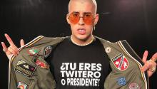 Bad Bunny, the most influential Latin artist of the moment. Via WHI