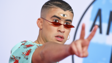 Bad Bunny at the 2018 AMAs.