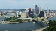 Philadelphia to Pittsburgh: A moving trend. Photo: Wikimedia Commons