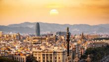 Barcelona, a vista de pájaro. Foto:Aleksandar Pasaric