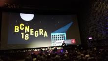 Imagen del festival de novela policíacacelebrado en Barcelona la semana pasada, en el que participarondestacados escritores latinoamericanos del géneronegro, comola argentinaClaudia Piñeiro(en la foto) o el cubanoLeonardo Padura.