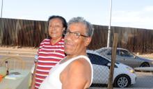 Mexican immigrants at the US Border. EFE/BEatriz Limón.