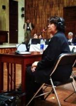 Juicio por genocidio: ''Ya no hay excusas'