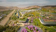 La futura ciudad recibe su nombrepor los 200 años de Independencia del Perú que se celebrarán en 2021. Photo: Perú Construye.