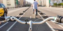 Barcelona is becoming a bike capital in Europe. Photo: Getty Images