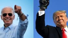 A las 8 am en Europa, a Joe Biden y Donald Trump les separa un escaso 1% de los votos. ¿Cómo se resolverá la elección?Photo: Andina