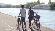 Incluir el ciclismoen la rutina diaria es una buena idea paramantenernuestra forma física.Foto:Julia Stepper