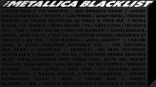 The Metallica Blacklistalbum artwork. Photo: Metallica / Blackened Recording Inc.