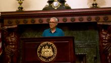 Leticia Egea-Hinto fue nombrado a la nueva Junta Escolar de Filadelfia el 4 de abril. La puertorriqueña ha trabajado como defensora de poblaciones vulnerables a lo largo de su carrera. Foto: Emily Neil / AL DIA NEWS