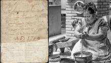 Con manchas de salsa y notas garabateadas por sus dueños, estos recetarios son bocados de la historia cultural de México. Vía UTSA y Gourmet de México.