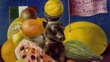 Los dos bodegones que aparecen en la muestra fueron pintados por la artista un par de años antes de su muerte.Photo: DMA.