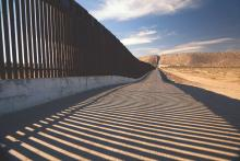 Border barriers between the U.S. and Mexico. Photo: Getty Images.