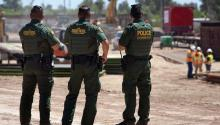 Members of the Border Patrol