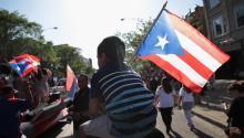 Música y política se unen en esta42 edición delDesfile del Pueblo Puertorriqueño, que llega unos meses antes del referendum de la isla. Photo: Univision / EFE