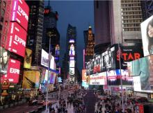 Broadway theaters reopen in September. File image.