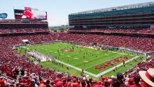 Imagen del Levi's Stadium en Santa Clara, California. Wikipedia.org