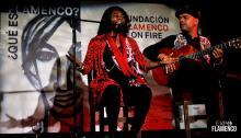 "The singer Concha Buika at the ""Flamenco On Fire 2021"" in Navarra."