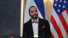 Foto: El presidente de El Salvador Nayib Bukele.(MARVIN RECINOS / AFP/Getty Images)