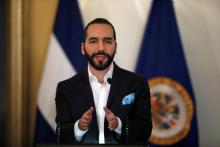 President of El Salvador, Nayib Bukele. Reuters file photo by Jose Cabezas.