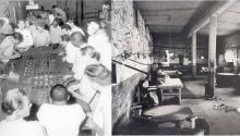 Un motín de origen dudoso acabó con este casino de la prisión de Carson City en 1967.Photo: Agente Provocador