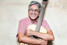 Singer-songwriter, composer and producer Caetano Veloso. File image.