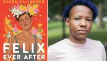 La novela juvenil Felix Ever After, de Kacen Callender, será adaptada a la televisión. Photo: Paperback Paris.
