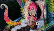 El carnaval de Santa Cruz de Tenerife es uno de los másfamosos del mundo. Foto:Philippe Teuwen