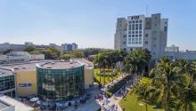 El campus de Miami de laUniversidad Internacional de Florida acogerá el centro cultural pionero.Photo: FIU
