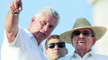 Raúl Castro and the first vice president, Miguel Díaz-Canel. Source: http://www.pulso.cl/