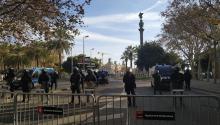 El independentismo vuelve a tomar lascalles de Barcelona. Foto: Esperanza Escribano