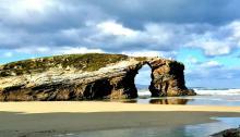 Playa de lasCatedrales. Foto: Plussilk