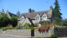 Church Cottage, la casa donde creció J.K. Rowling, en Tutshill, Gloucestershire, Reino Unido. Foto: Wikipedia