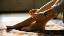 La pesadez de las piernas se nota más durante el verano. Foto: Manki Kim