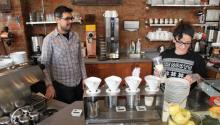 At Ultimo Coffee all drip coffee is hand-poured, and all single-origin options are based on a seasonal menu. Samantha Madera/AL DÍA News