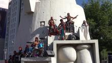 La banda formada por cinco hermanos es oriunda de Nezahualcóyotl, la urbe más poblada de México y una de las más azotadas por la pandemia y la espiral de violencia machista.