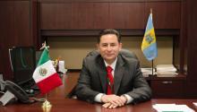 El cónsul Carlos Giralt-Cabrales nació en la Ciudad de México, pero creció en el estado mexicano de Campeche comenzando su trayectoria en la Secretaría de Relaciones Exteriores (SRE) en 1983. Michelle Severino/AL DÍA News.