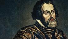 Hernán Cortés. Photo: Archivo.