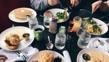 Las comidasen pareja, uno de los problemas. Foto:Jennifer Kim