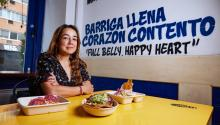 Deleon started her first business when she was 16 years old.  Harrison Brink