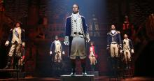4th of July : A tale of freedom, Michelle Myers, Hamilton an American musical. Photo: Joan Marcus