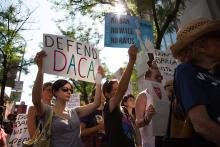 DACA Rally on September 5th 2017 by Samantha Laub / AL DÍA News