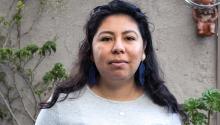 Areli González llegó a los EE.UU. de la Ciudad de México cuando tenía solo 13 años. Ahora, a los 26 años, tendrá seguro médico a través de su trabajo por la primera vez en su vida. Foto: Yunuen Bonaparte